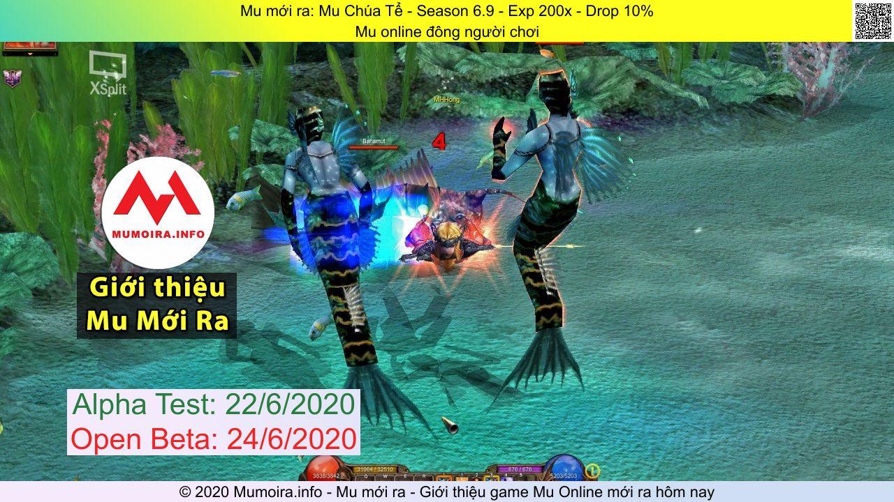 Giới thiệu Mu mới ra bởi Mumoira.info: Mu Chúa Tể  - Mu online đông người chơi - Season 6.9 - Alpha Test 22/6/2020 - Open Beta 24/6/2020