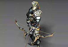 Vệ binh cung thủ - NPC game Mu Online